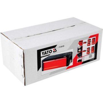 Μεταλλική εργαλειοθήκη με 1 συρτάρι τύπου βαλίτσα YATO