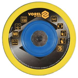 Ανταλλακτικός δίσκος τριβείου αέρος Φ150mm VOREL 81115