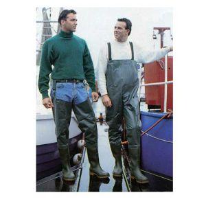 Γαλότσα ψαρέματος μηρού PVC με βαμβακερή επένδυση