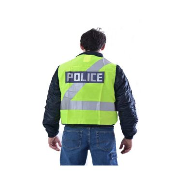 Ανακλαστικό γιλέκο εργασίας POLICE