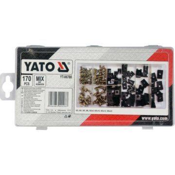 Βίδες και κλιπς αυτοκινήτου σετ 170 τεμαχίων YATO