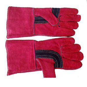 Γάντια θερμικά ηλεκτροσυγκολλητών δερμάτινα με Kevlar