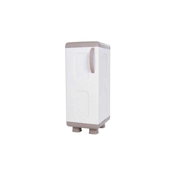 Κοντή μονόφυλλη ντουλάπα πλαστική ΡΕΑ με πόδια