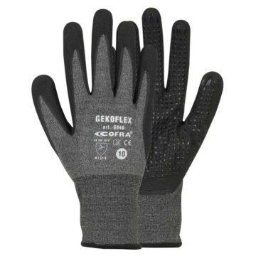 Γάντια εργασίας μηχανικά υδατοαπωθητικά GEKOFLEX COFRA