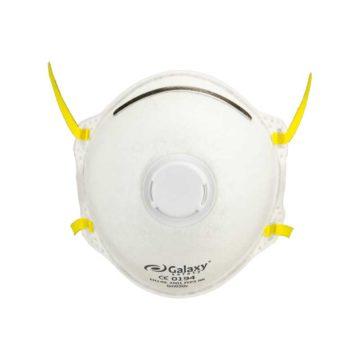 Μάσκα σκόνης προστασίας FFP3 με βαλβίδα GALAXY