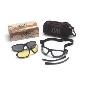 Γυαλιά ασφαλείας με 3 φακούς PYRAMEX XSG σετ