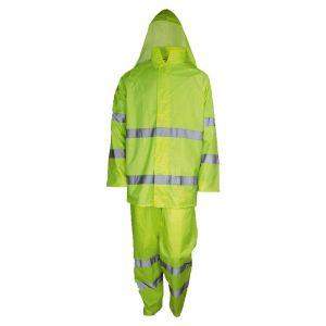 Αδιάβροχο κουστούμι ανακλαστικό με κουκούλα GALAXY
