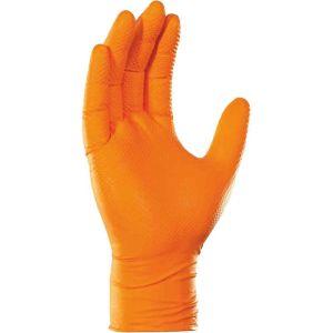 Γάντια νιτριλίου εργασίας πορτοκαλί Robust