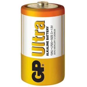 Μπαταρίες αλκαλικές 1.5V D LR20 GP ULTRA