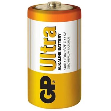 Μπαταρία αλκαλική 1.5V C LR14 GP ULTRA