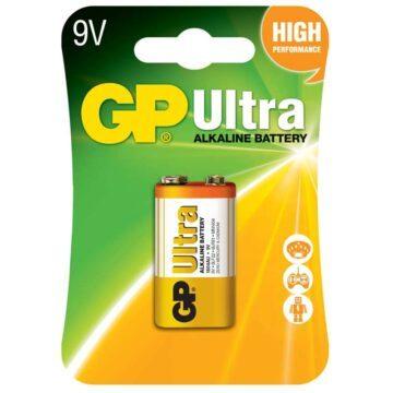 Μπαταρία αλκαλική 9V 6LR61 GP ULTRA