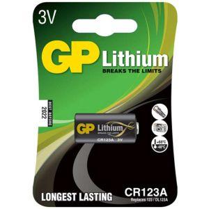 Μπαταρία λιθίου CR123A GP