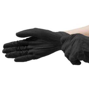 Γάντια βινυλίου νιτριλίου μαύρα