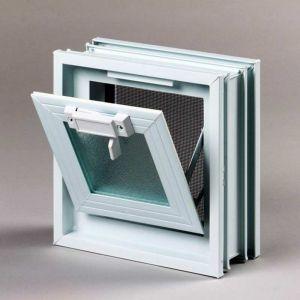 Πλαστικό παράθυρο με σήτα 19 x 19